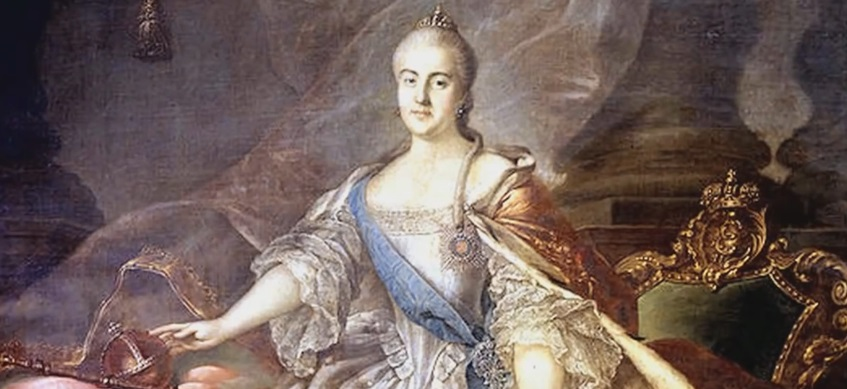 Katarina Velika: Između dela i intriga