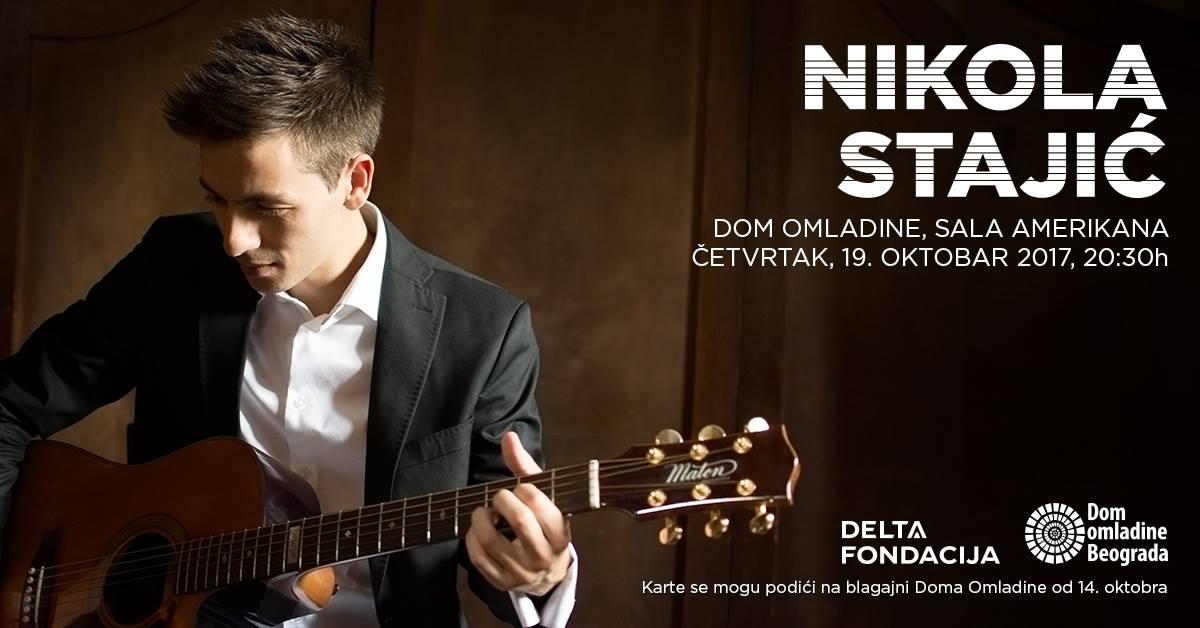 Koncert mladog gitariste Nikole Stajića!