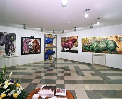 Izložba Vase Dolovačkog, Milana Miletića i Gorana Mitrovića