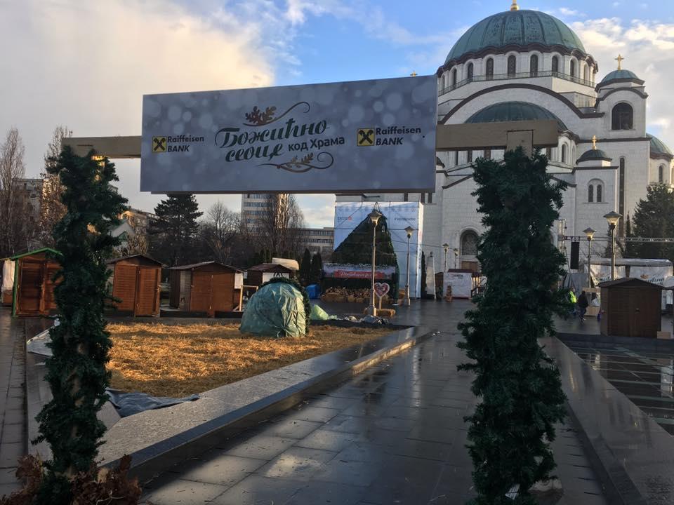 Uživaj u prazničnoj atmosferi kod Hrama Svetog Save