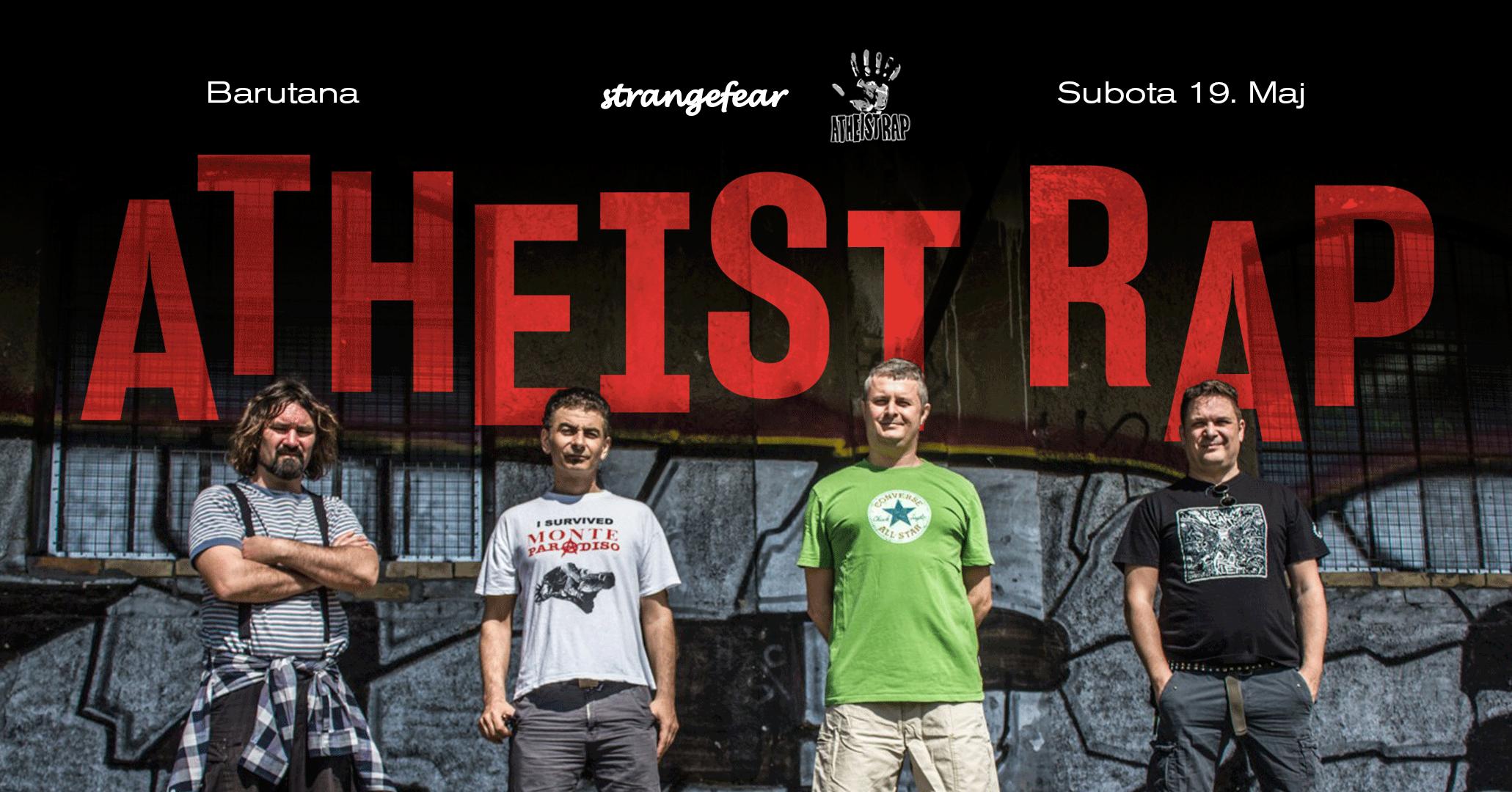 Koncert grupe Atheist Rap u Beogradu