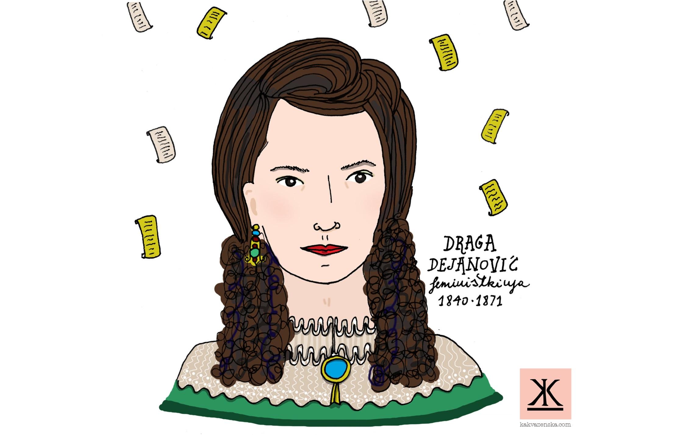 Draga Dejanović: Ja sam žena, ali smem