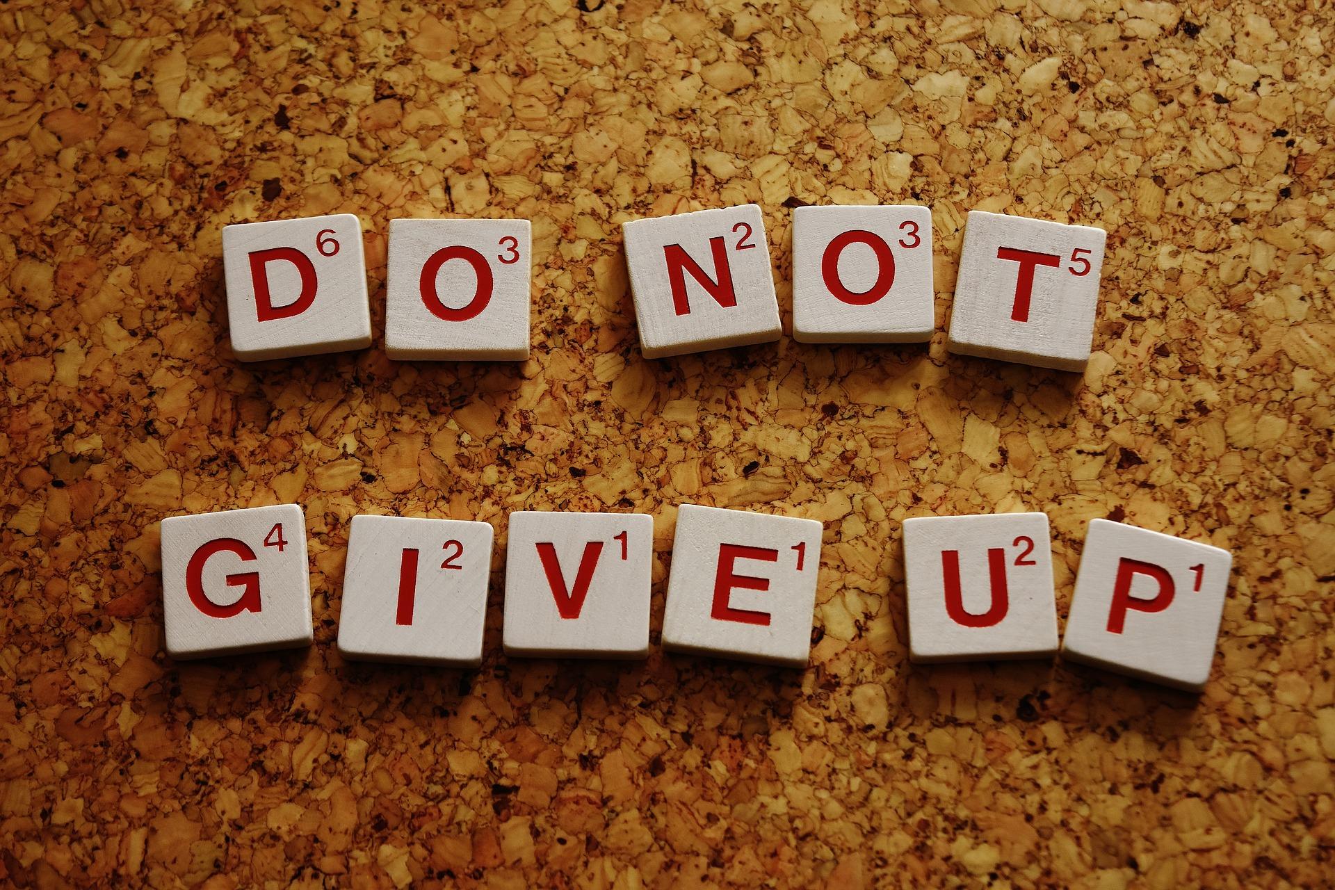 Šta treba da uradite kada poželite da odustanete?