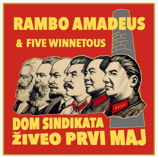 Prvomajski koncert Ramba Amadeusa u Kombank dvorani