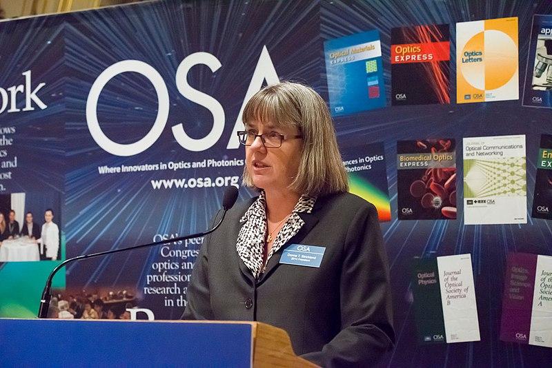 Dona Strikland, dobitnica Nobelove nagrade za fiziku