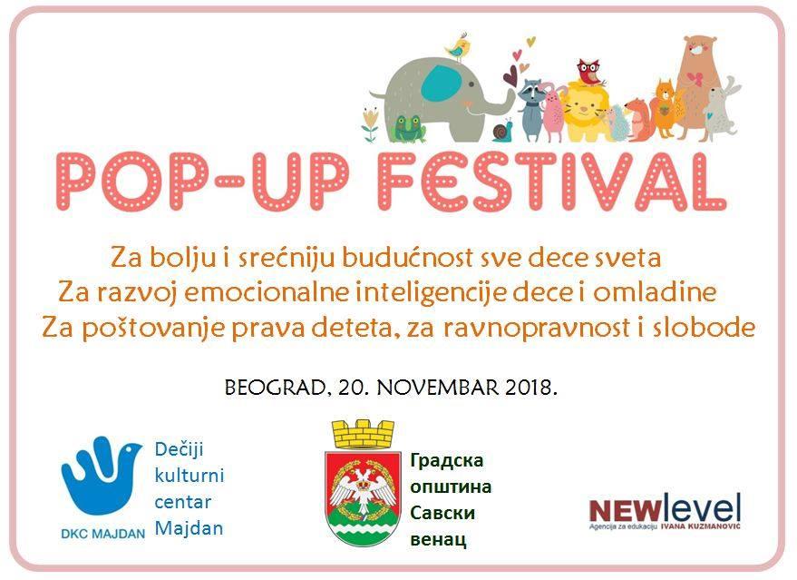 Beograd: Prvi Pop-up Dečiji festival