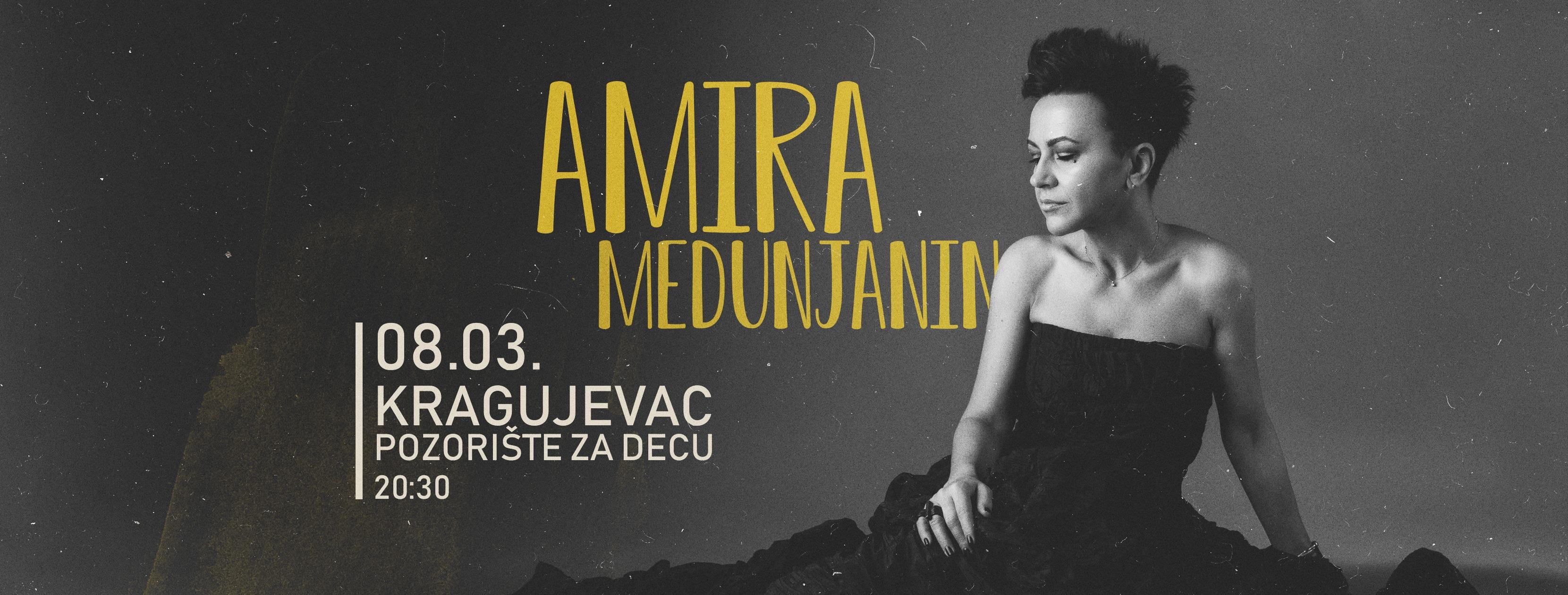 Kragujevac: Koncert Amire Medunjanin za Dan žena
