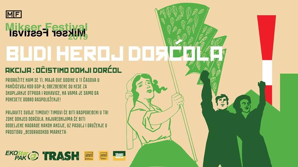Uvertira za Mikser festival: čišćenje Donjeg Dorćola