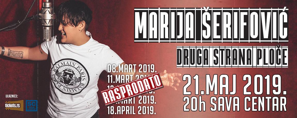 """Marija Šerifović u """"Sava Centru"""" - šesti put!"""