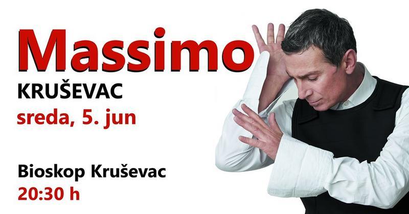 Massimo peva za vas u Kruševcu