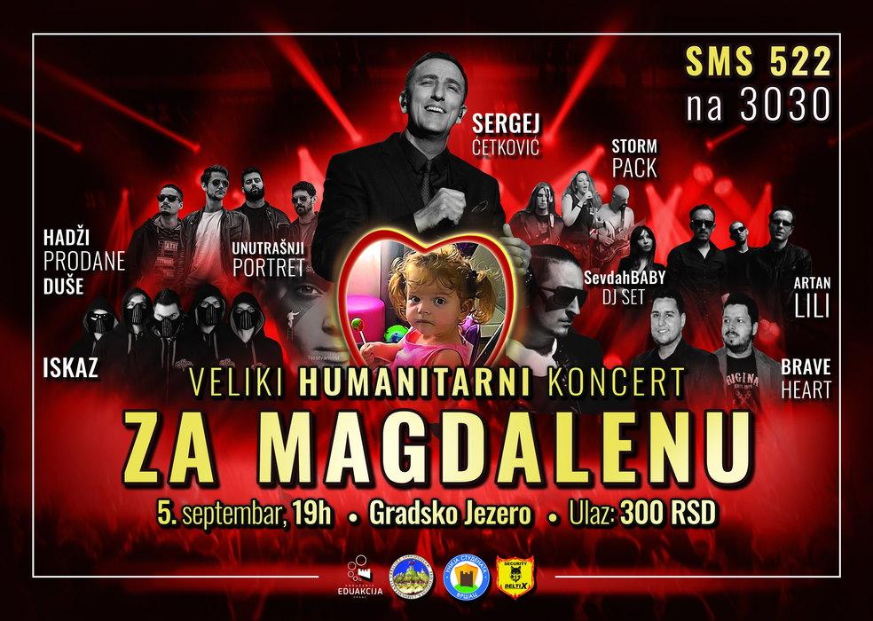 Vršac za Magdalenu: veliki humanitarni koncert