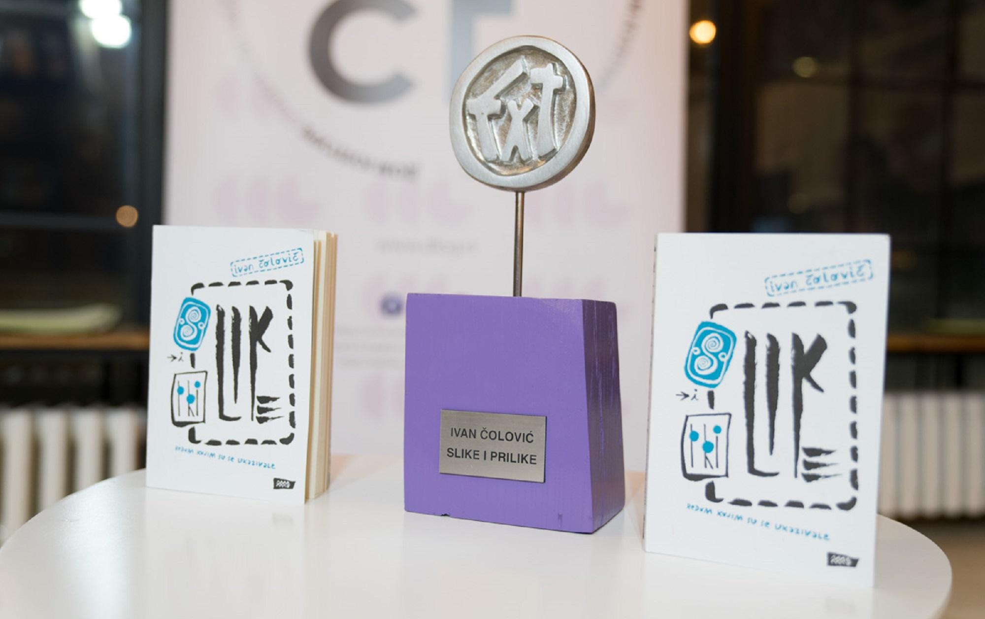 Ivanu Čoloviću dodeljena književna nagrada DKSG