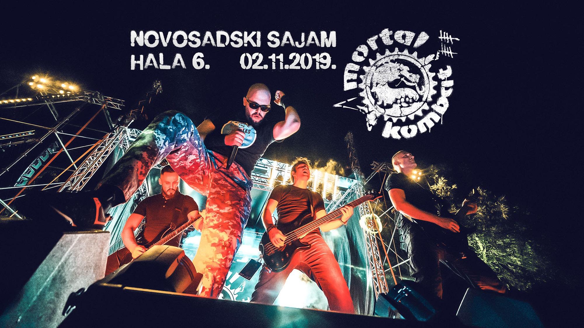 Mortal Kombat najavio veliki novosadski koncert DVD izdanjem