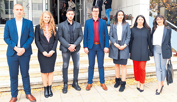 Dočekani zlatni pravnici iz Kragujevca