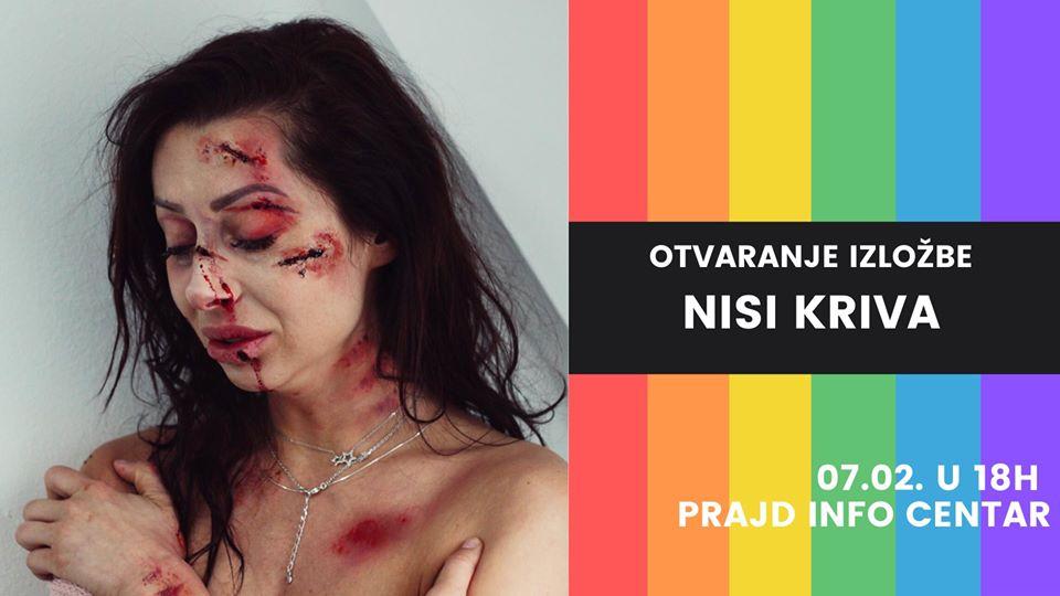 """Beograd: otvaranje izložbe """"Nisi kriva"""""""