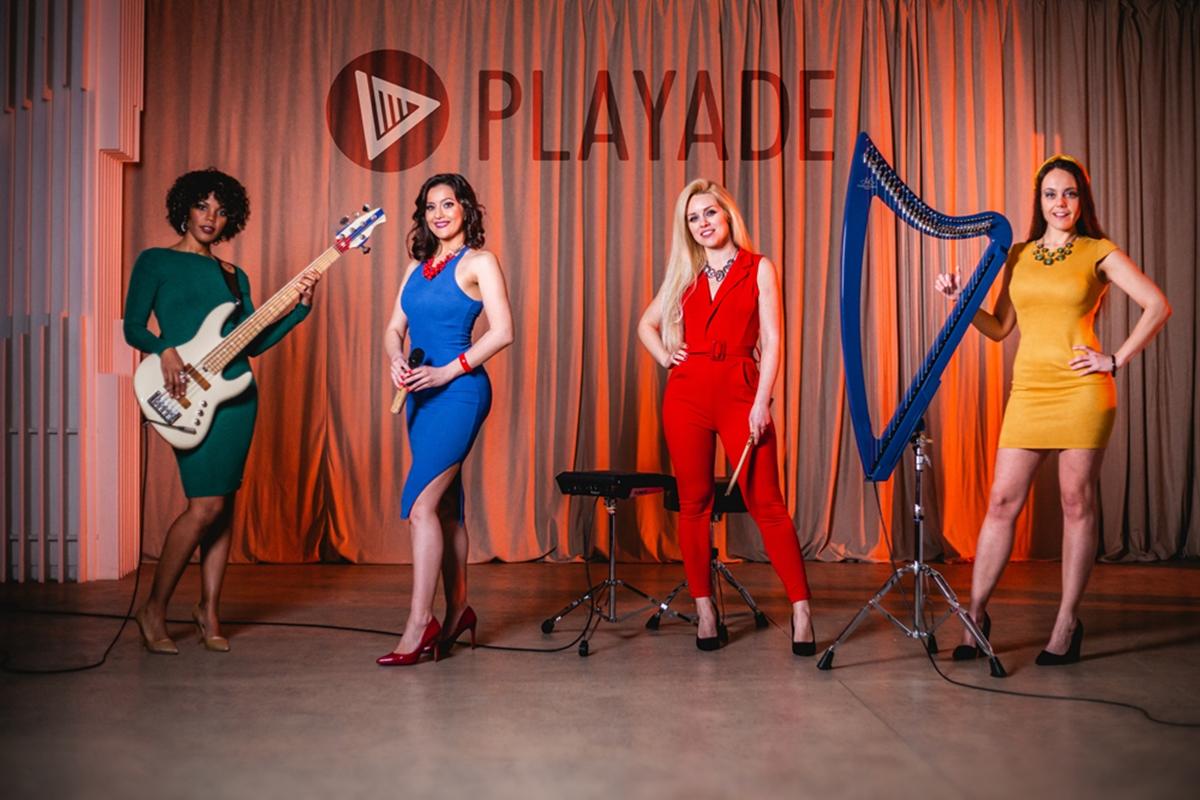 Playade: ženski elektro bend briljantni unikat regiona
