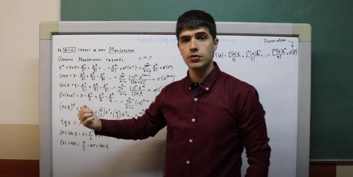 Stefan Spalević: Matematika i rep idu zajedno