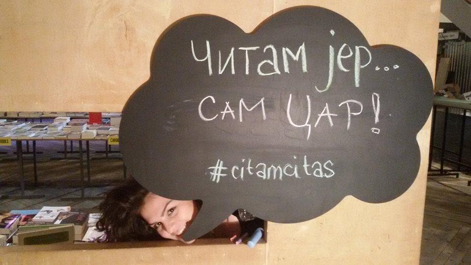 Tanja Đorđević: Čitanje u javnosti je kul!