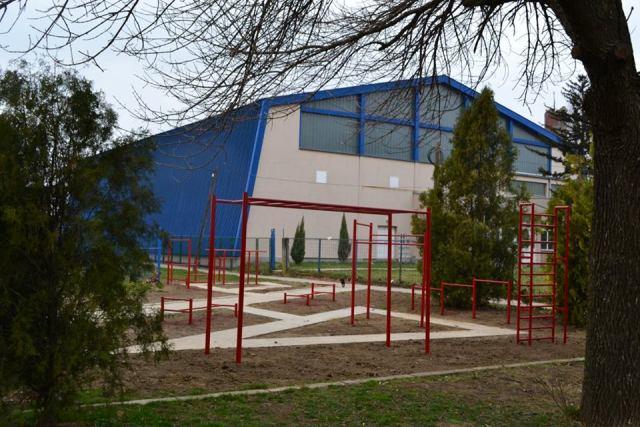 Banatsko Novo Selo dobilo teretanu na otvorenom