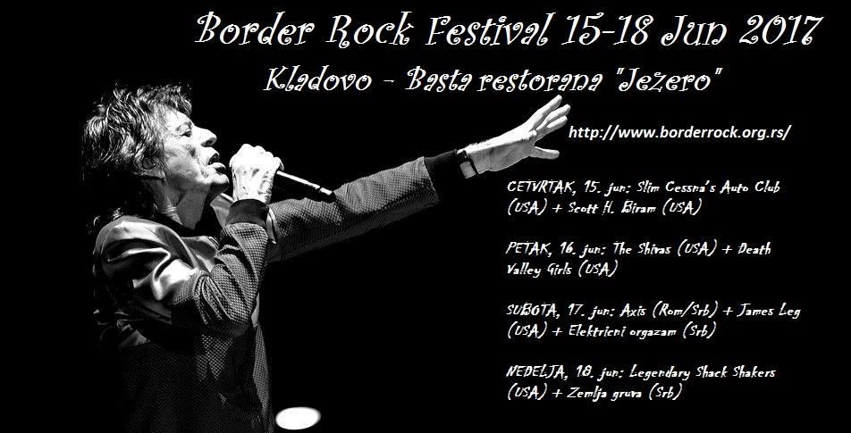 Border Rock festival: Rokenrol se vraća u grad