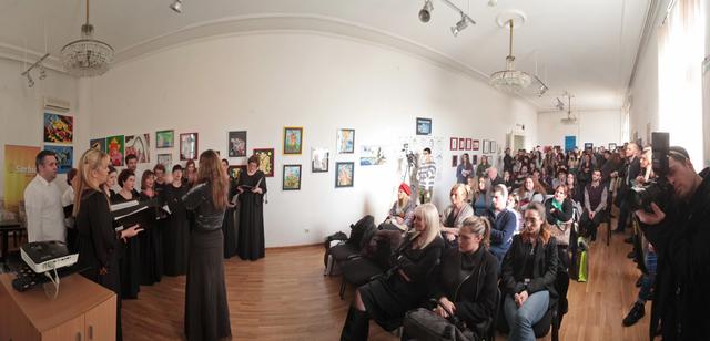 Umetnici i iSerbia oduševili posetioce!
