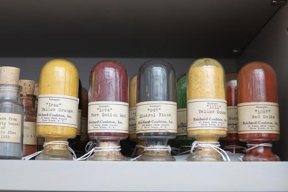 Misterija boje: Forbsova kolekcija pigmenata