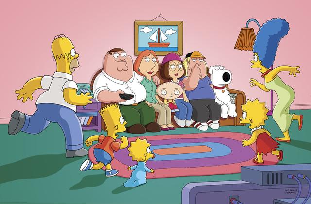 Grifinovi u poseti Simpsonovima