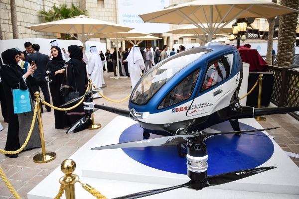 Dron za prevoz ljudi od jula u Dubaiju