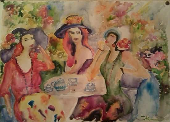 Umetnica Tatjana K: Akvarel, poetičnost i mi