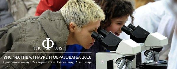 Počinje 8. Festival nauke i obrazovanja na UNS