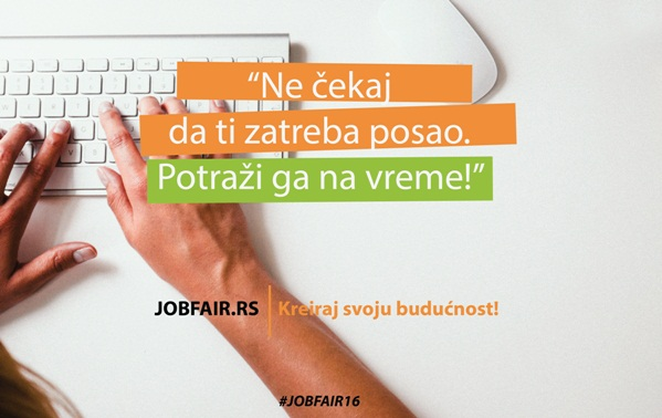 Dođite na sajam poslova i praksi u Beogradu