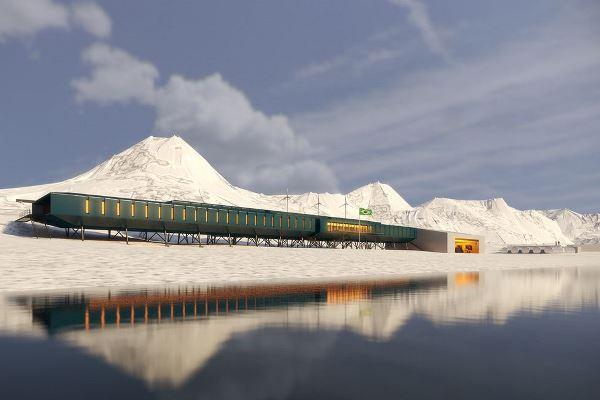 Futuristička arhitektura Antarktika
