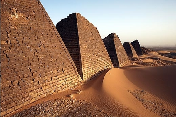 Zemlja sa najviše piramida na svetu