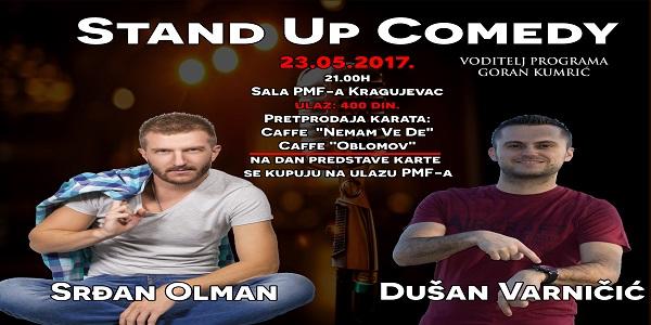 Veče Stand up komedije u Kragujevcu