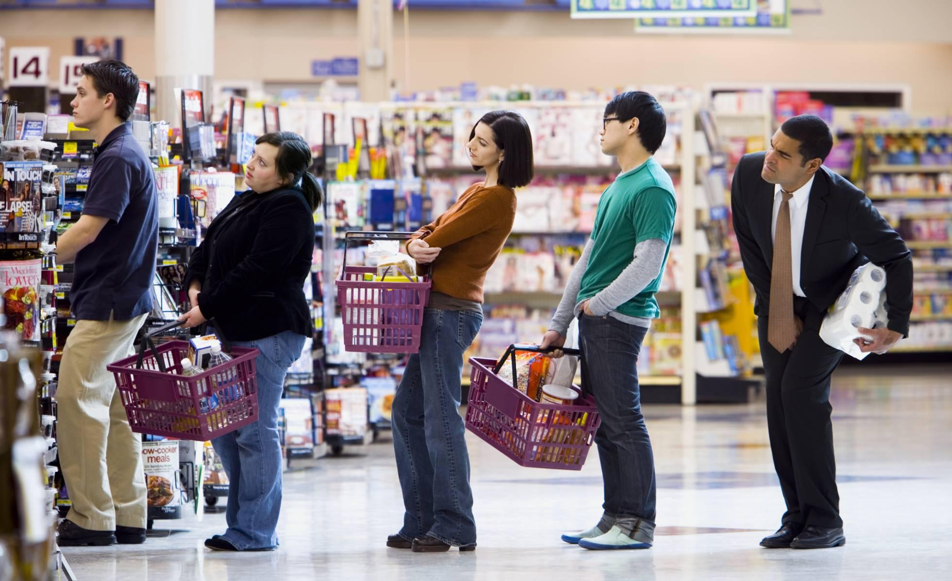 Kako odabrati najbrži red u supermarketu?