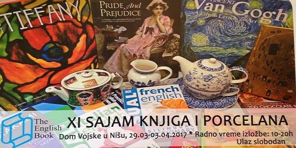 Niš: Otvoren Sajam engleskih knjiga i porcelana